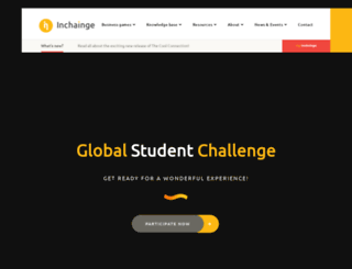 globalstudentchallenge.org screenshot
