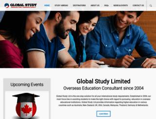 globalstudy.com.bd screenshot