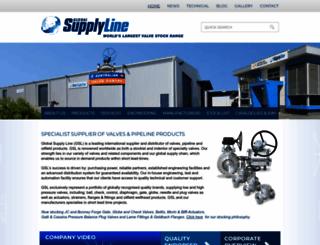 globalsupplyline.com.au screenshot