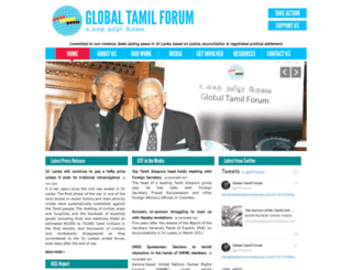 globaltamilforum.net screenshot