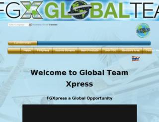 globalteamxpress.com screenshot