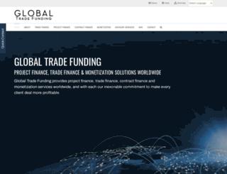 globaltradefunding.com screenshot