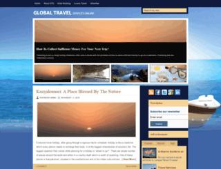 globaltravelservicesonline.com screenshot