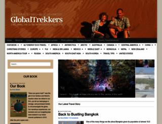 globaltrekkers.ca screenshot