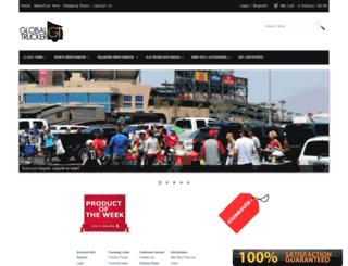 globaltrucker.com screenshot