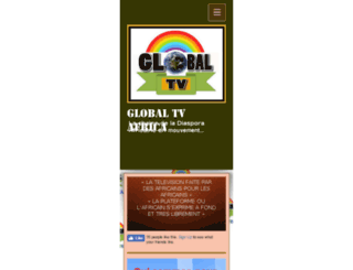globaltvafrica.com screenshot