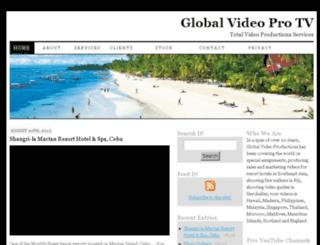 globalvideoprotv.com screenshot