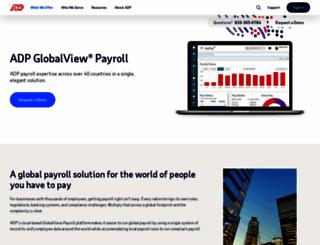 globalview.adp.com screenshot