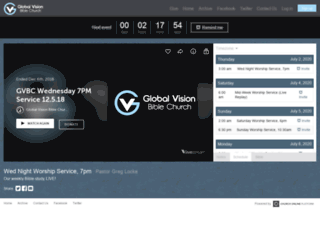 globalvisionbc.churchonline.org screenshot