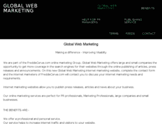globalwebmarketing.org screenshot