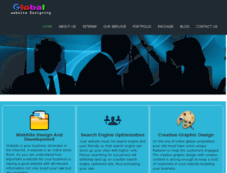 globalwebsitedesigning.com screenshot