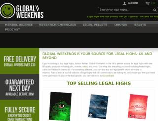 globalweekends.co.uk screenshot