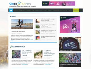 globe-runners.fr screenshot
