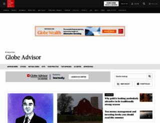 globeadvisor.com screenshot
