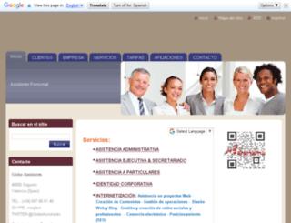 globeassistants.com screenshot