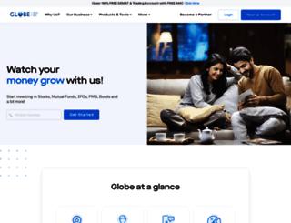 globecapital.com screenshot