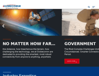 globecommsystems.com screenshot