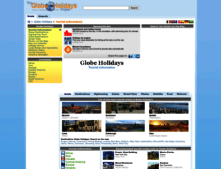 globeholidays.net screenshot