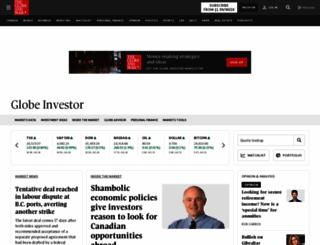 globeinvestor.com screenshot
