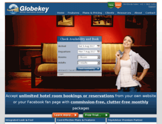 globekey.com screenshot