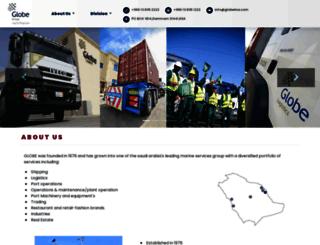 globeksa.com screenshot