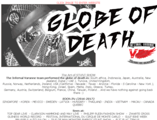globeofdeath.biz screenshot