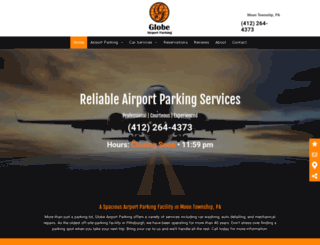globeparking.com screenshot