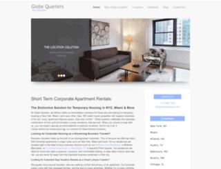 globequarters.com screenshot