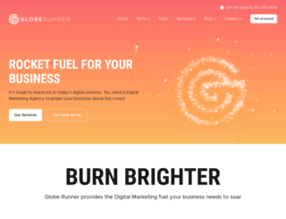 globerunnerseo.com screenshot