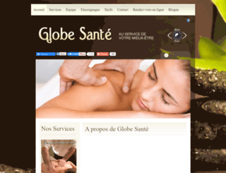 globesante.com screenshot