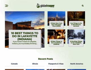 globetrooper.com screenshot