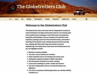 globetrotters.co.uk screenshot