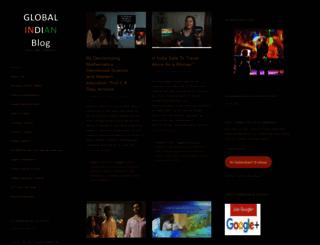 globindian.wordpress.com screenshot