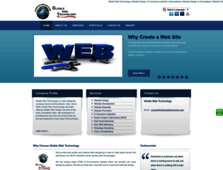 globlewebtechnology.com screenshot