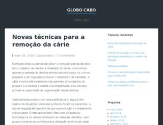 globocabo.com.br screenshot