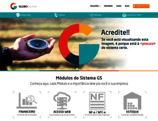 globosolution.com.br screenshot