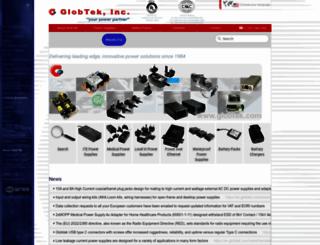 globtek.com screenshot