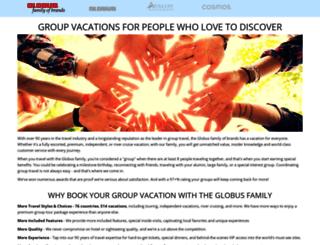 globusfamilygroups.com screenshot