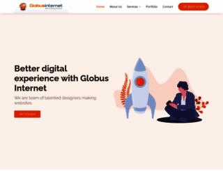 globusinternet.com screenshot