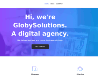 globysolutions.com screenshot