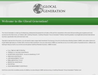 glocalgeneration.com screenshot