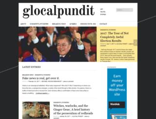glocalpundit.com screenshot