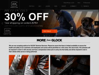 glock.com screenshot
