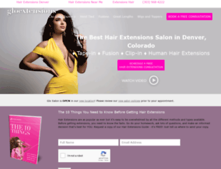 gloextensionsdenver.com screenshot