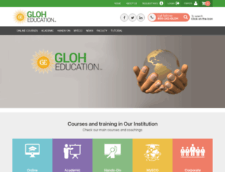 gloheducation.com screenshot