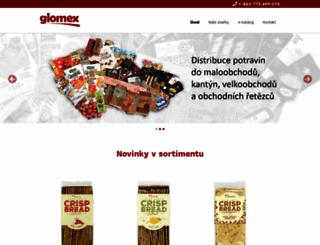 glomex.cz screenshot