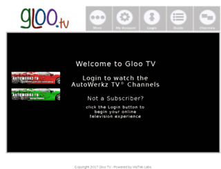 gloo.tv screenshot