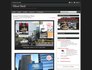 gloorsteel.blogspot.com screenshot
