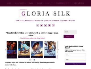 gloriasilk.com screenshot