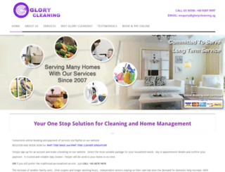 glorycleaning.sg screenshot